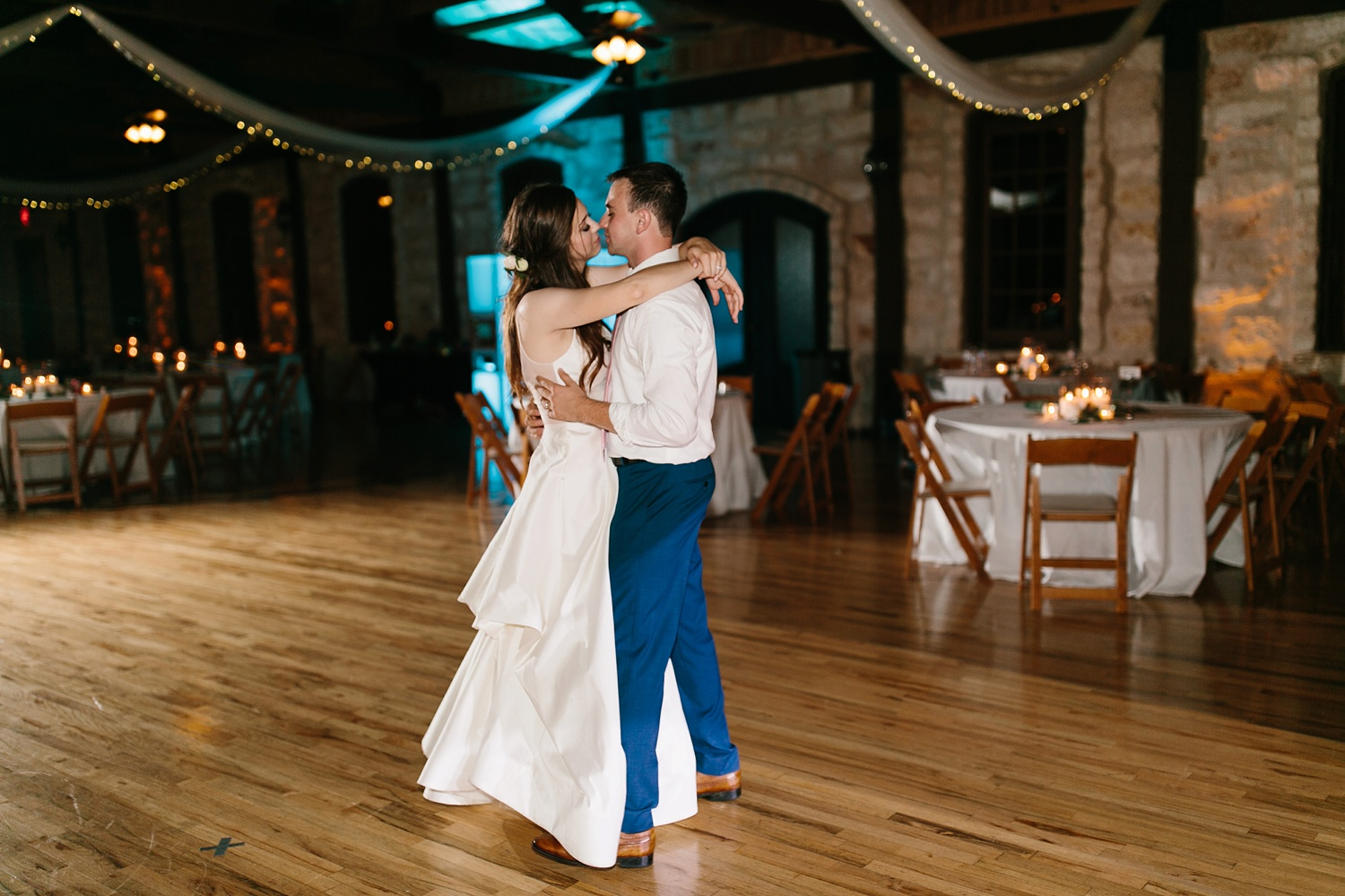 Aleta + Sabian a blush pink and navy blue wedding at The Springs in Anna, TX by North Texas Wedding Photographer _ Rachel Meagan Photography _ 131