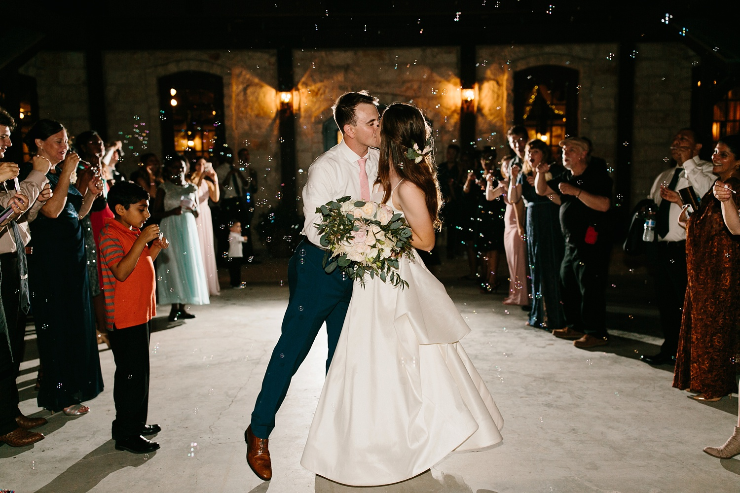 Aleta + Sabian a blush pink and navy blue wedding at The Springs in Anna, TX by North Texas Wedding Photographer _ Rachel Meagan Photography _ 138