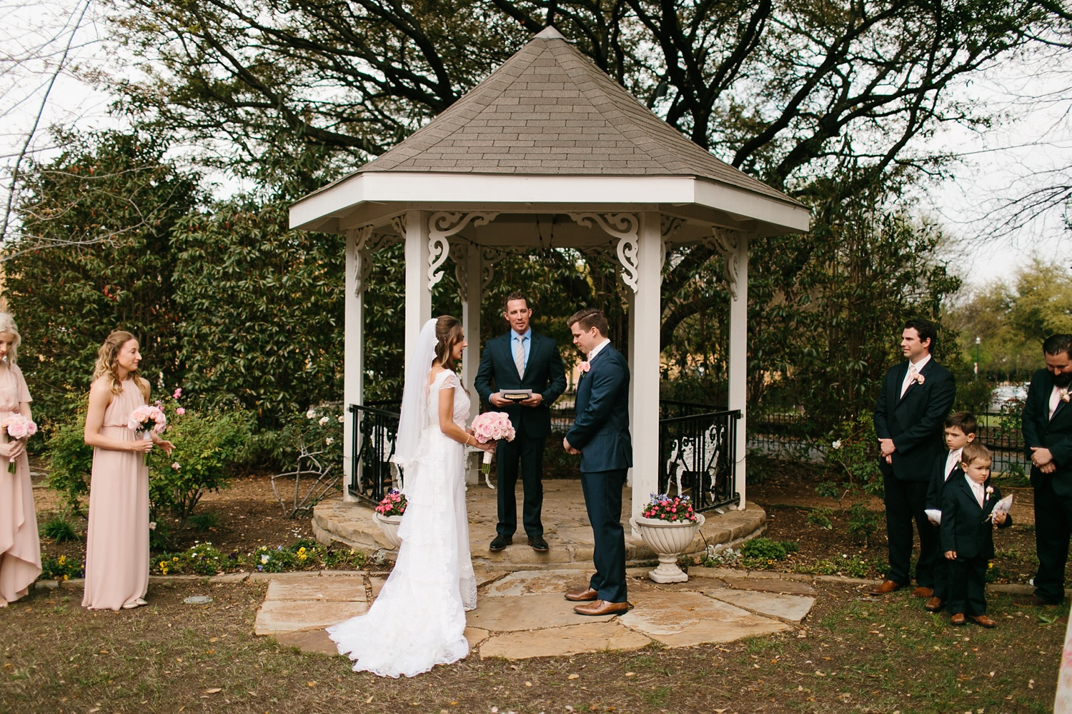 Amber + Daniel an intimate, simple, spring ceremony at Heard Craig Center and reception at Gather in McKinney, Texas by North Texas Wedding Photographer Rachel Meagan Photography 055