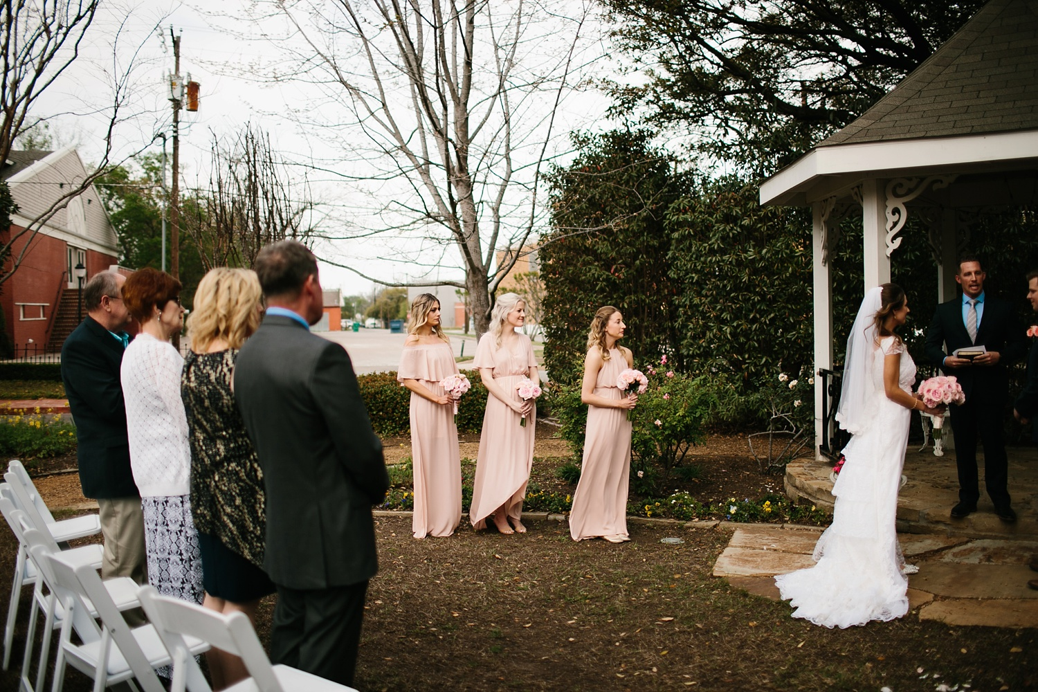 Amber + Daniel an intimate, simple, spring ceremony at Heard Craig Center and reception at Gather in McKinney, Texas by North Texas Wedding Photographer Rachel Meagan Photography 056
