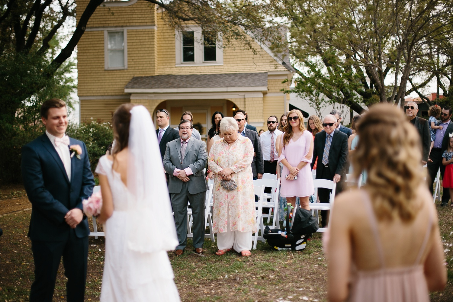 Amber + Daniel an intimate, simple, spring ceremony at Heard Craig Center and reception at Gather in McKinney, Texas by North Texas Wedding Photographer Rachel Meagan Photography 057