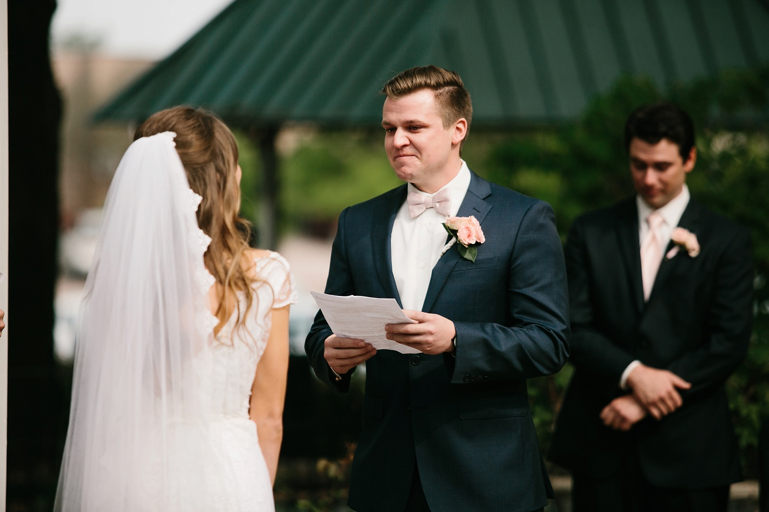 Amber + Daniel an intimate, simple, spring ceremony at Heard Craig Center and reception at Gather in McKinney, Texas by North Texas Wedding Photographer Rachel Meagan Photography 062