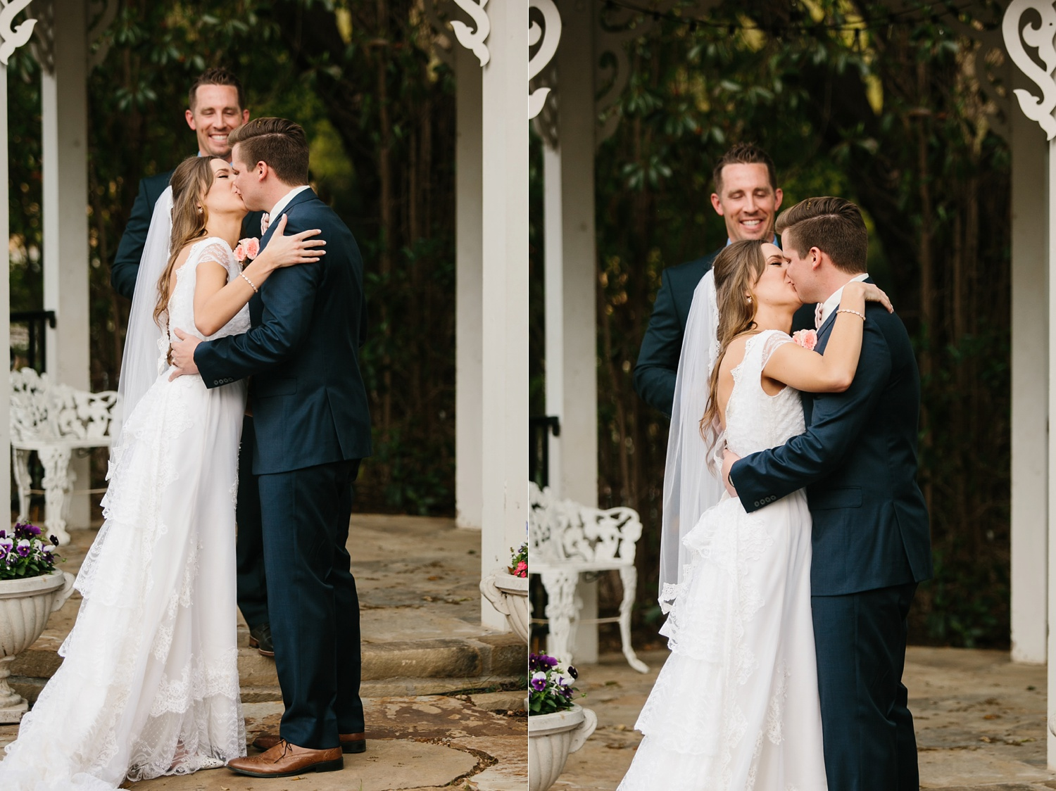 Amber + Daniel an intimate, simple, spring ceremony at Heard Craig Center and reception at Gather in McKinney, Texas by North Texas Wedding Photographer Rachel Meagan Photography 068