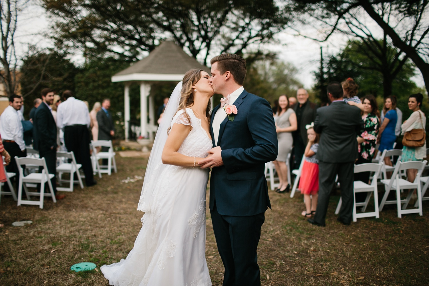 Amber + Daniel an intimate, simple, spring ceremony at Heard Craig Center and reception at Gather in McKinney, Texas by North Texas Wedding Photographer Rachel Meagan Photography 071