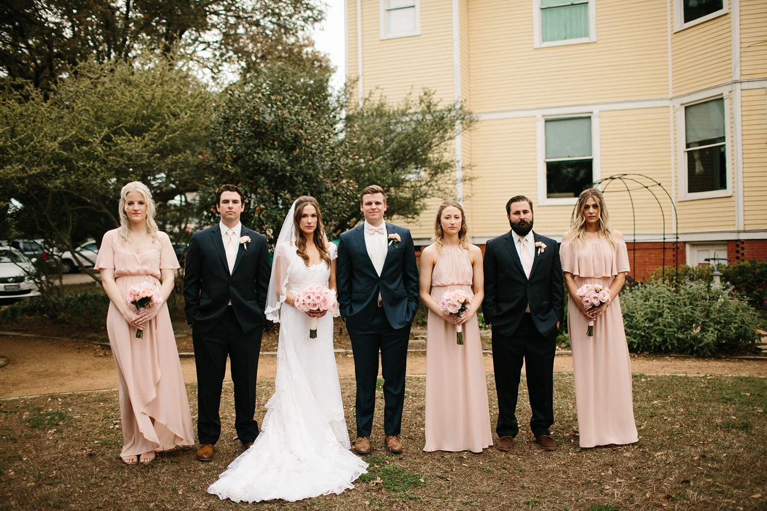 Amber + Daniel an intimate, simple, spring ceremony at Heard Craig Center and reception at Gather in McKinney, Texas by North Texas Wedding Photographer Rachel Meagan Photography 073