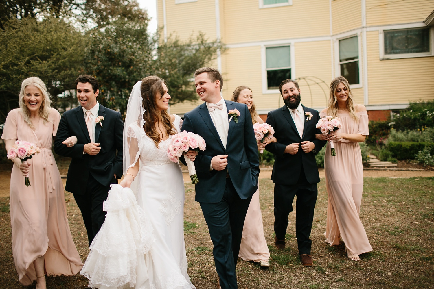 Amber + Daniel an intimate, simple, spring ceremony at Heard Craig Center and reception at Gather in McKinney, Texas by North Texas Wedding Photographer Rachel Meagan Photography 074