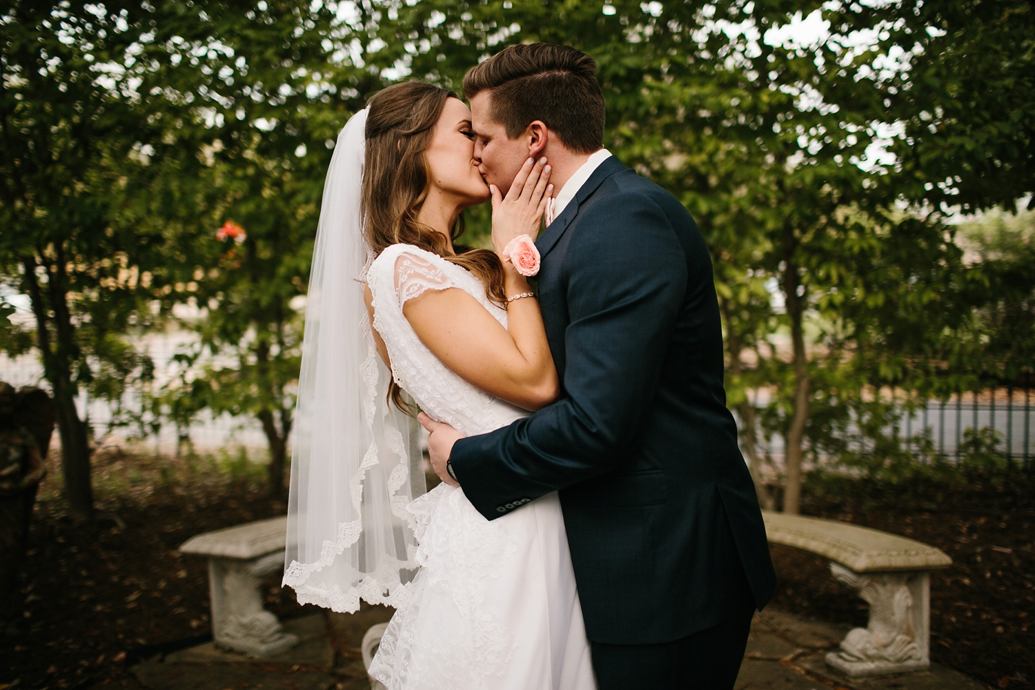 Amber + Daniel an intimate, simple, spring ceremony at Heard Craig Center and reception at Gather in McKinney, Texas by North Texas Wedding Photographer Rachel Meagan Photography 083