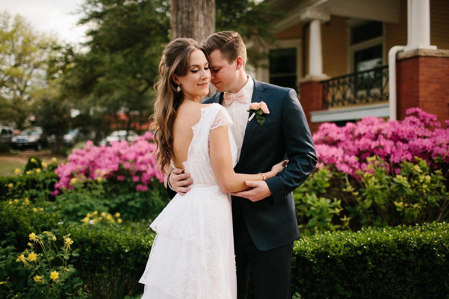Amber + Daniel an intimate, simple, spring ceremony at Heard Craig Center and reception at Gather in McKinney, Texas by North Texas Wedding Photographer Rachel Meagan Photography 086
