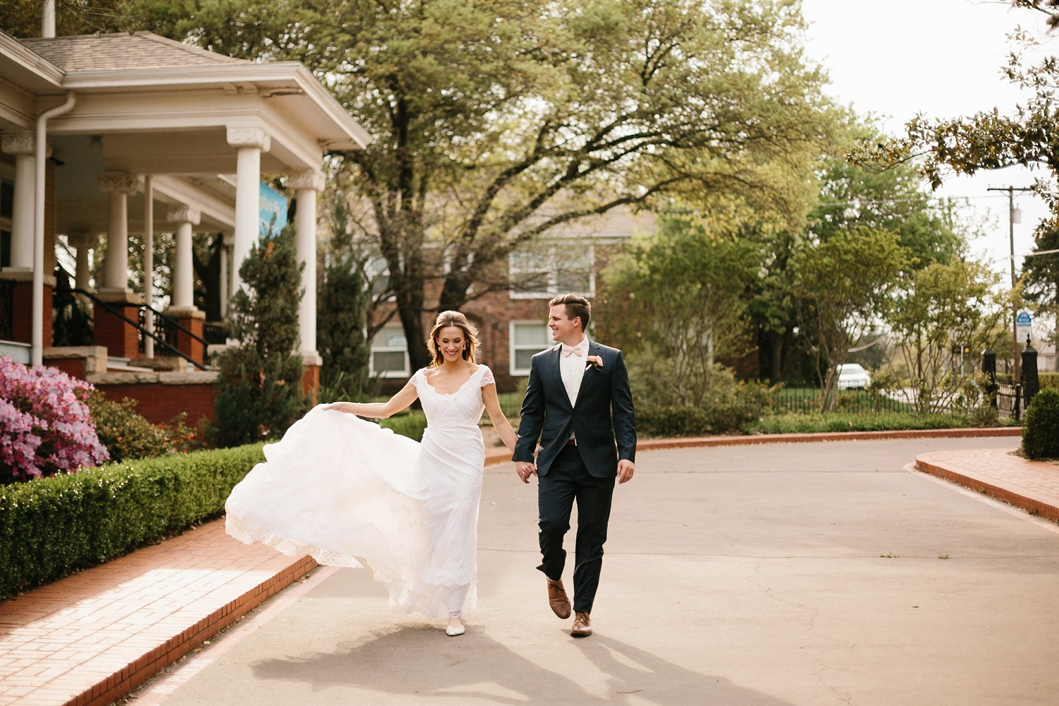 Amber + Daniel an intimate, simple, spring ceremony at Heard Craig Center and reception at Gather in McKinney, Texas by North Texas Wedding Photographer Rachel Meagan Photography 092
