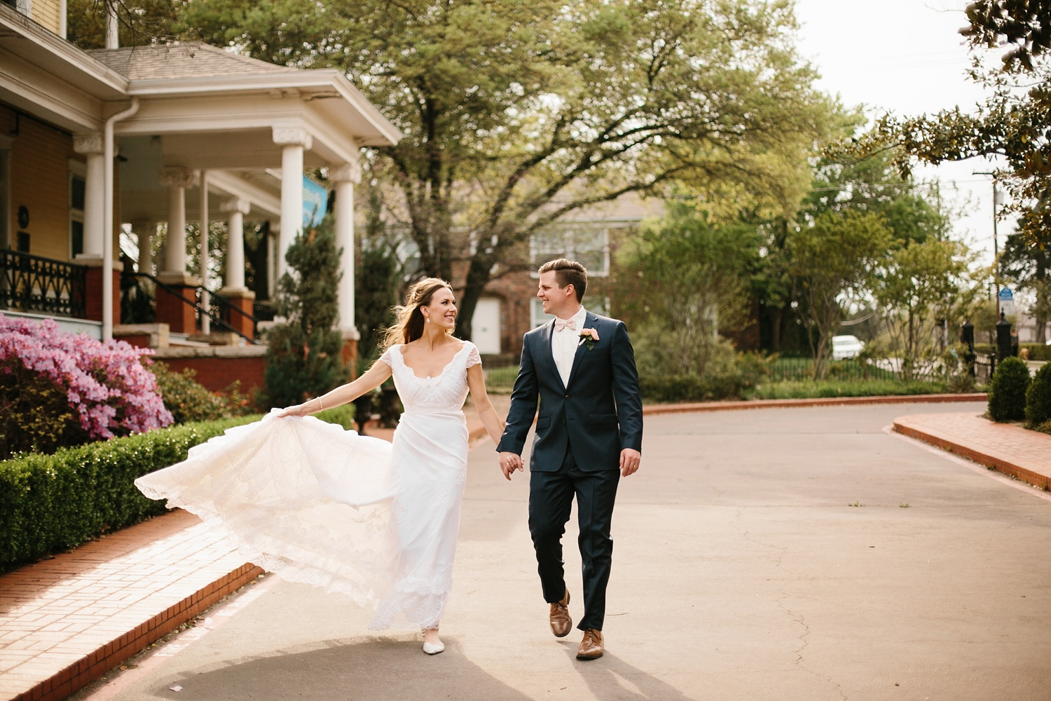 Amber + Daniel an intimate, simple, spring ceremony at Heard Craig Center and reception at Gather in McKinney, Texas by North Texas Wedding Photographer Rachel Meagan Photography 093