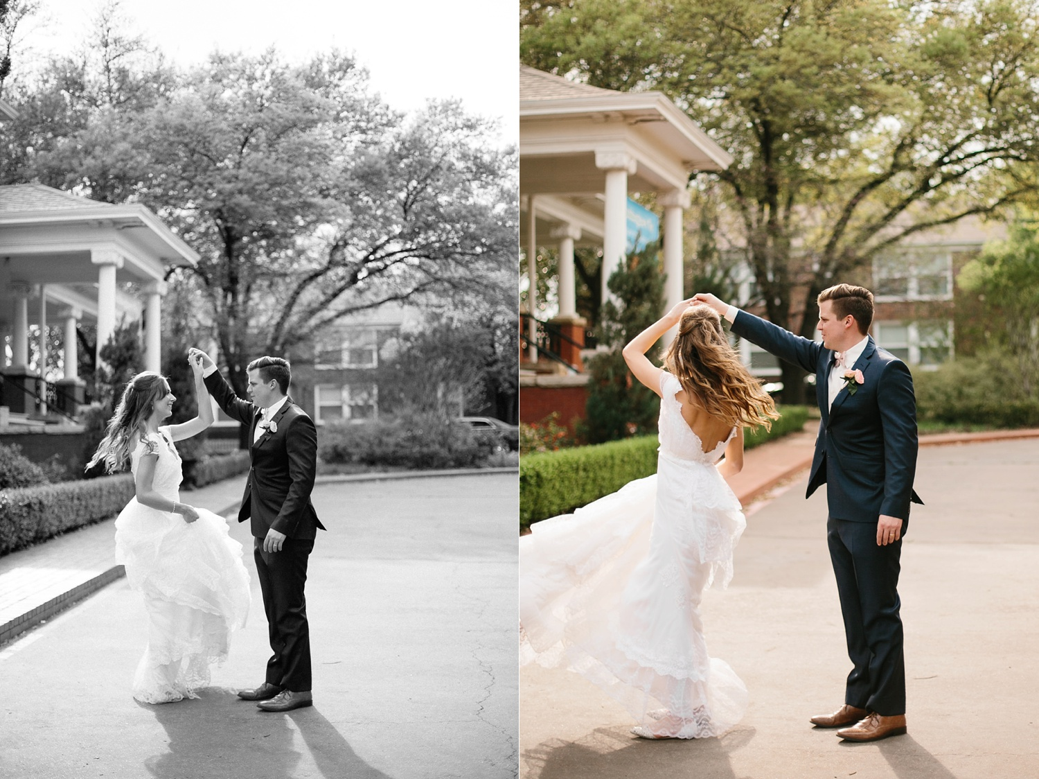 Amber + Daniel an intimate, simple, spring ceremony at Heard Craig Center and reception at Gather in McKinney, Texas by North Texas Wedding Photographer Rachel Meagan Photography 095