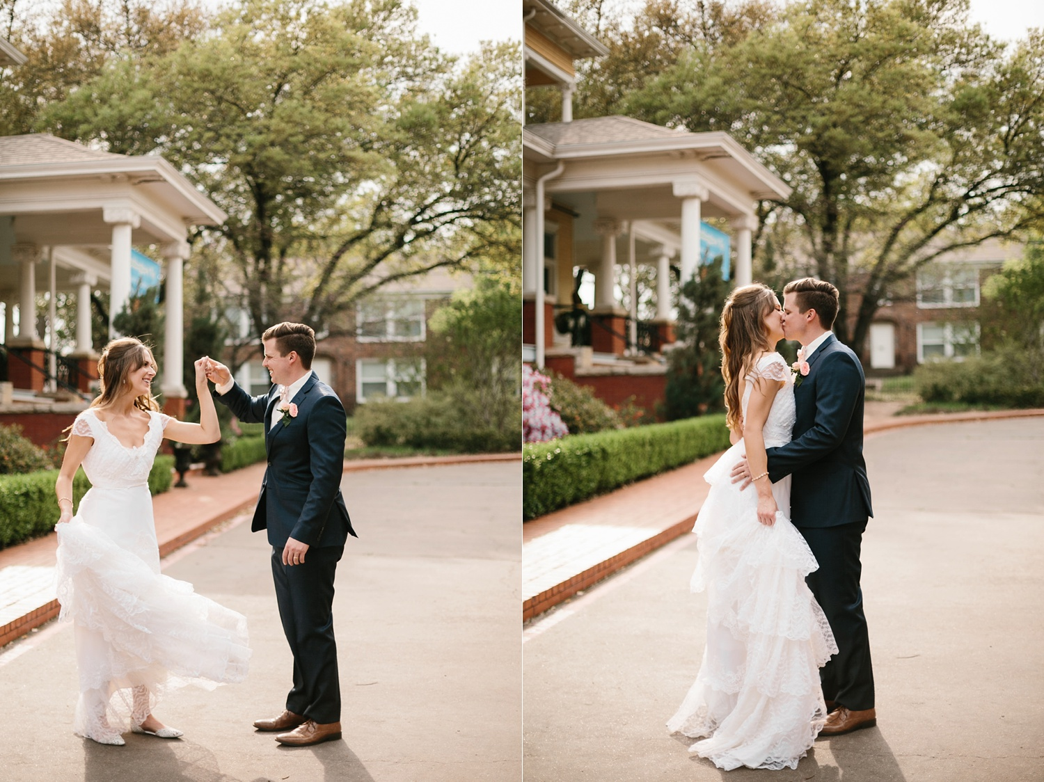 Amber + Daniel an intimate, simple, spring ceremony at Heard Craig Center and reception at Gather in McKinney, Texas by North Texas Wedding Photographer Rachel Meagan Photography 096