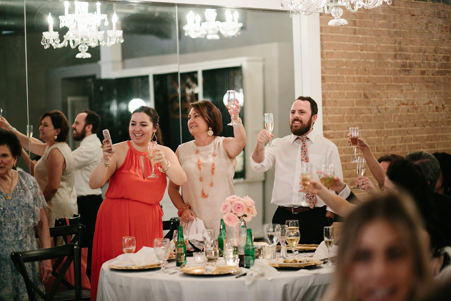 Amber + Daniel an intimate, simple, spring ceremony at Heard Craig Center and reception at Gather in McKinney, Texas by North Texas Wedding Photographer Rachel Meagan Photography 125