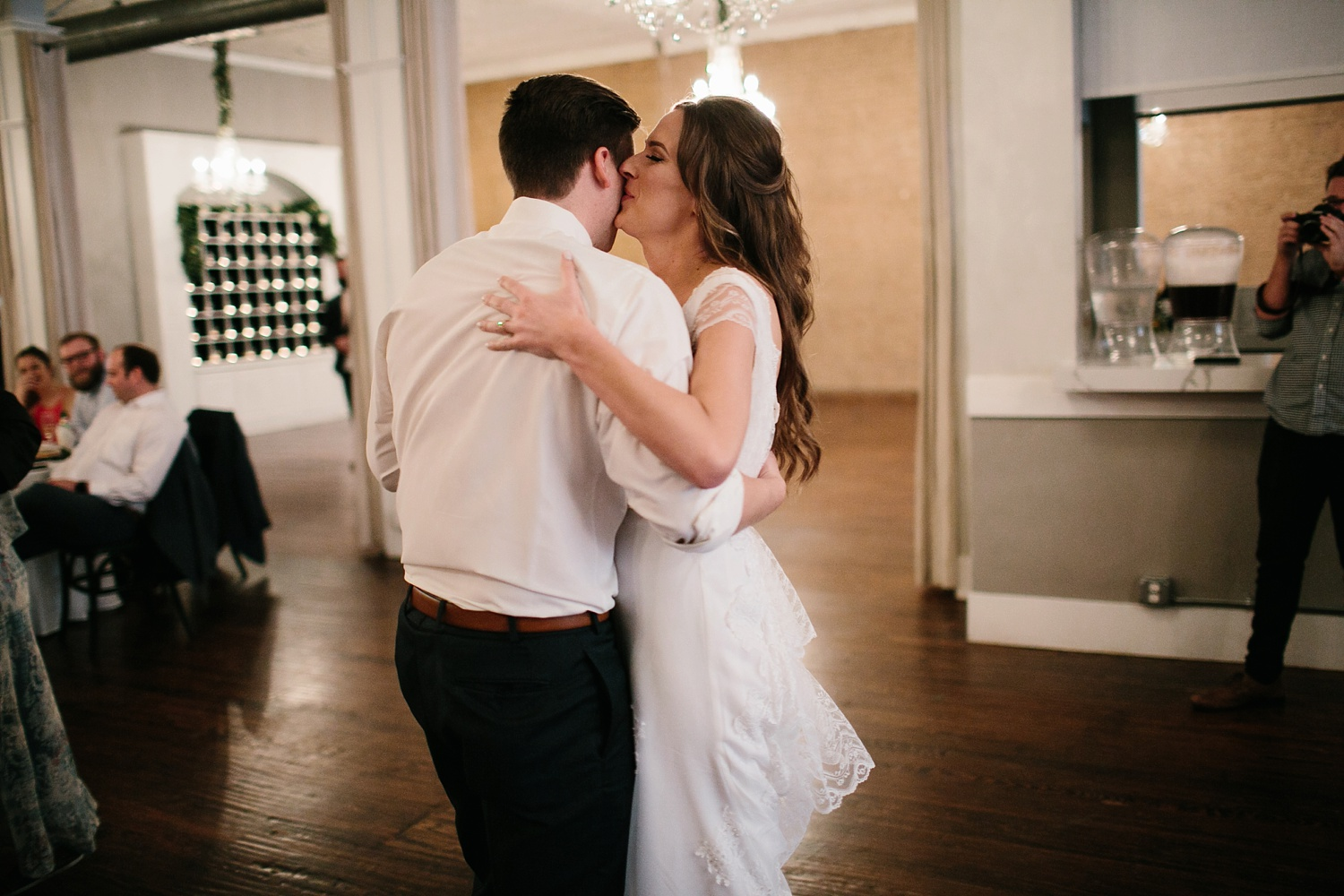 Amber + Daniel an intimate, simple, spring ceremony at Heard Craig Center and reception at Gather in McKinney, Texas by North Texas Wedding Photographer Rachel Meagan Photography 131