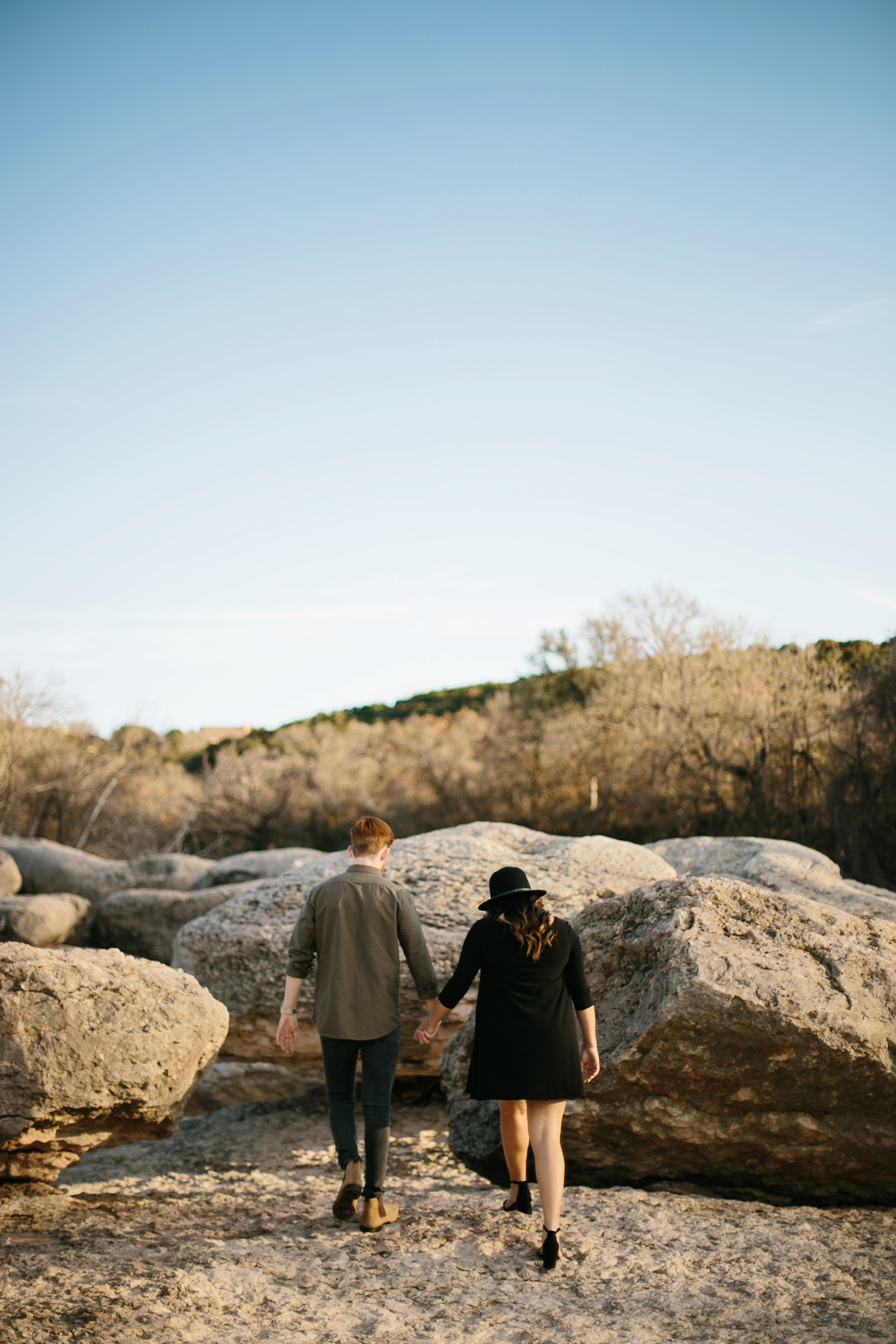 Grant + Lysette - floral dress engagement session by North Texas Wedding Photographer Rachel Meagan Photography050