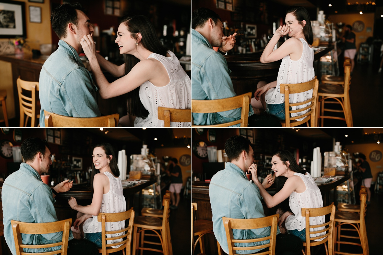 a laughter filled, passionate, and fun loving engagement session by North Texas Wedding Photographer Rachel Meagan Photography 004