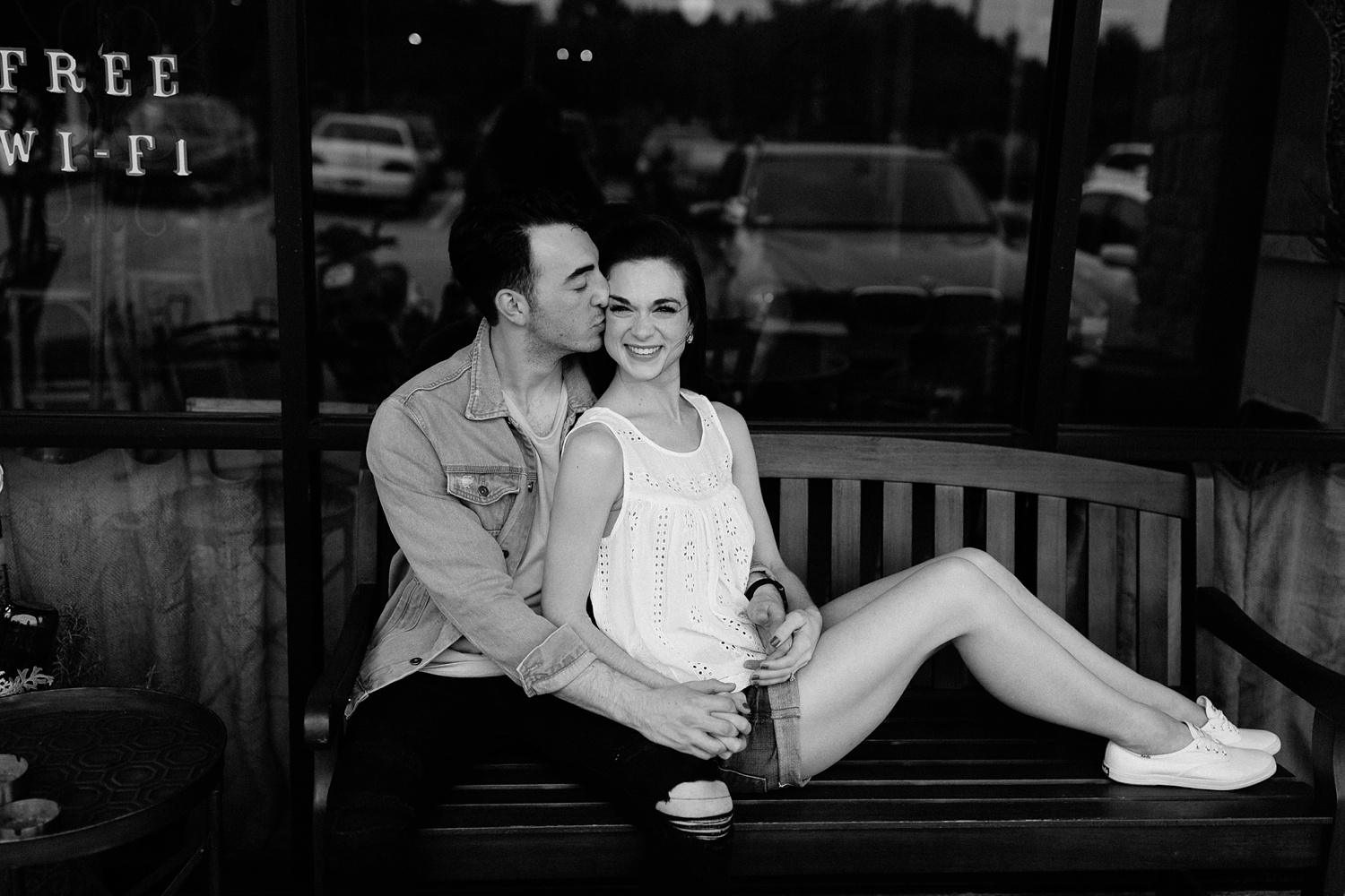 a laughter filled, passionate, and fun loving engagement session by North Texas Wedding Photographer Rachel Meagan Photography 013