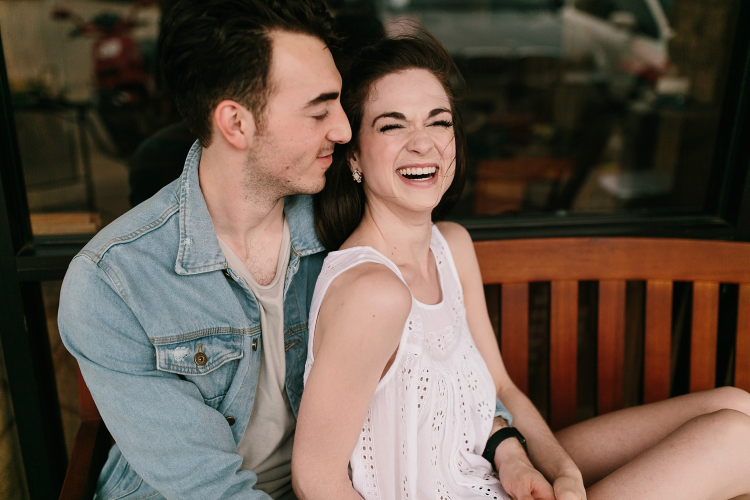 a laughter filled, passionate, and fun loving engagement session by North Texas Wedding Photographer Rachel Meagan Photography 015