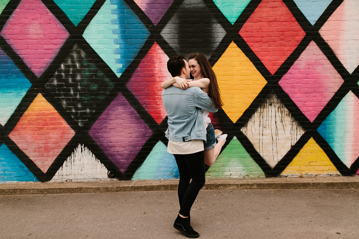 a laughter filled, passionate, and fun loving engagement session by North Texas Wedding Photographer Rachel Meagan Photography 023