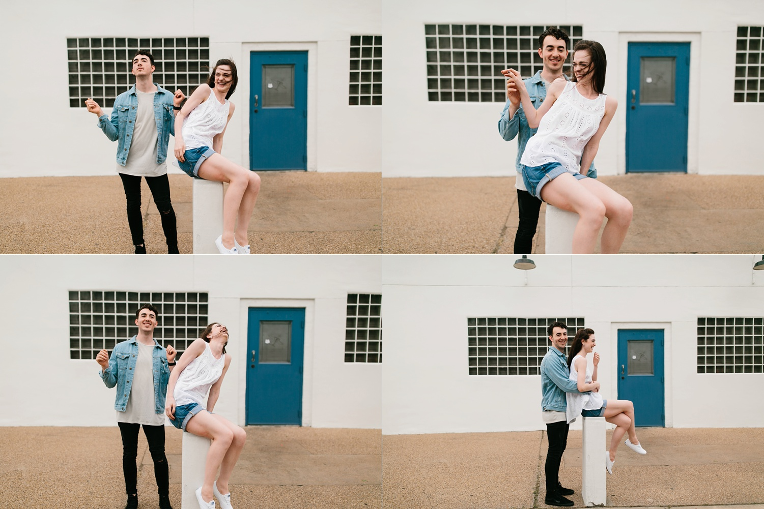 a laughter filled, passionate, and fun loving engagement session by North Texas Wedding Photographer Rachel Meagan Photography 073