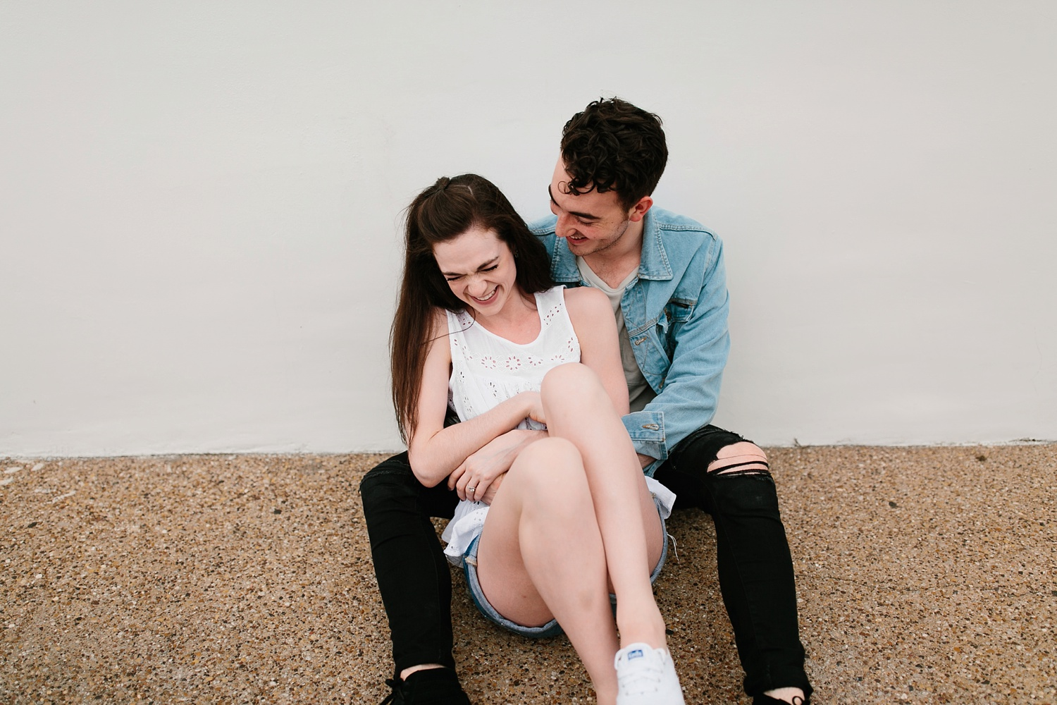 a laughter filled, passionate, and fun loving engagement session by North Texas Wedding Photographer Rachel Meagan Photography 096