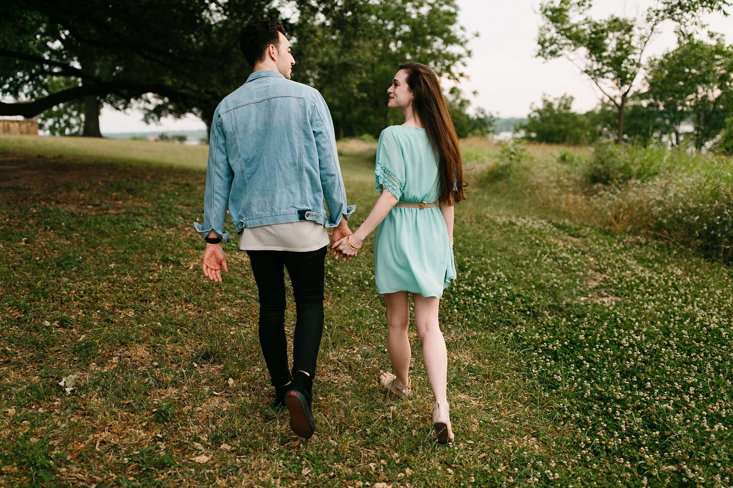 a laughter filled, passionate, and fun loving engagement session by North Texas Wedding Photographer Rachel Meagan Photography 122