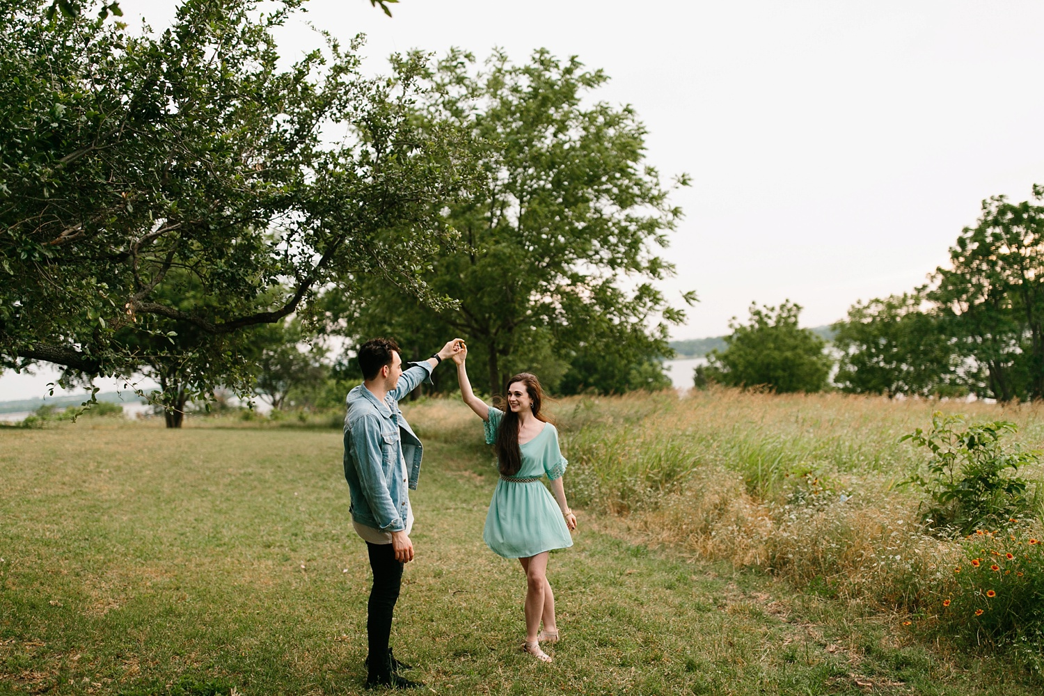 a laughter filled, passionate, and fun loving engagement session by North Texas Wedding Photographer Rachel Meagan Photography 124