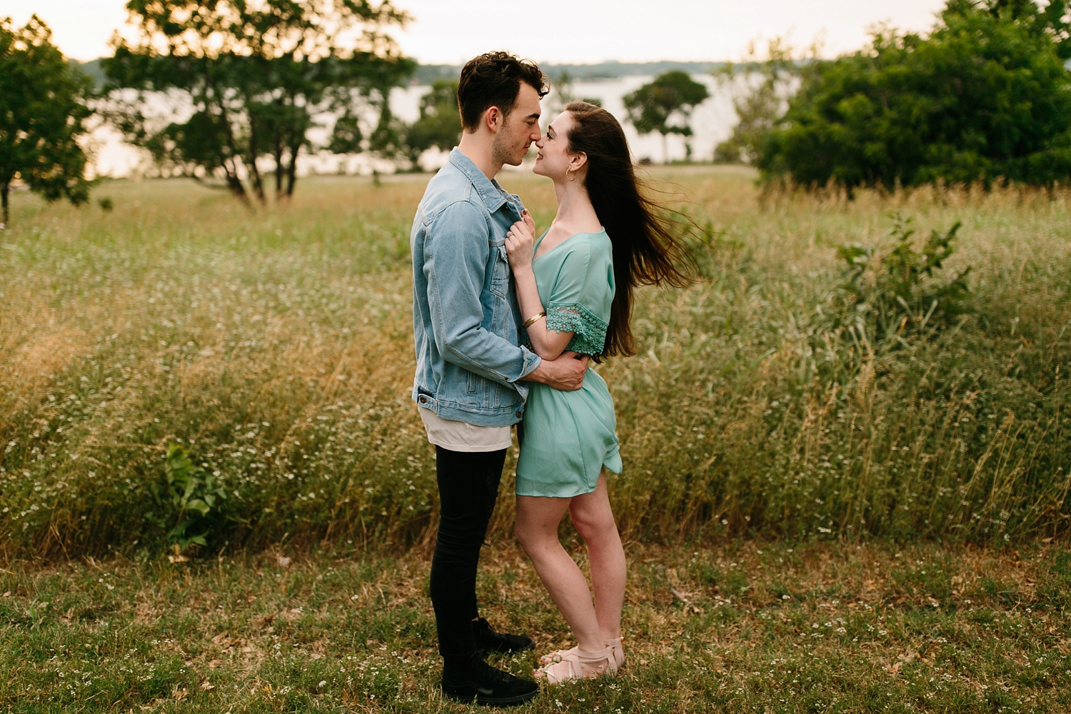 a laughter filled, passionate, and fun loving engagement session by North Texas Wedding Photographer Rachel Meagan Photography 126