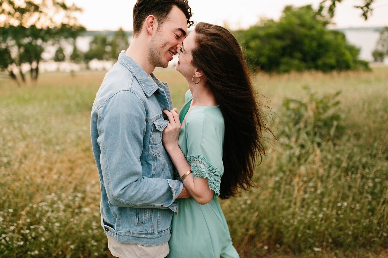 a laughter filled, passionate, and fun loving engagement session by North Texas Wedding Photographer Rachel Meagan Photography 134