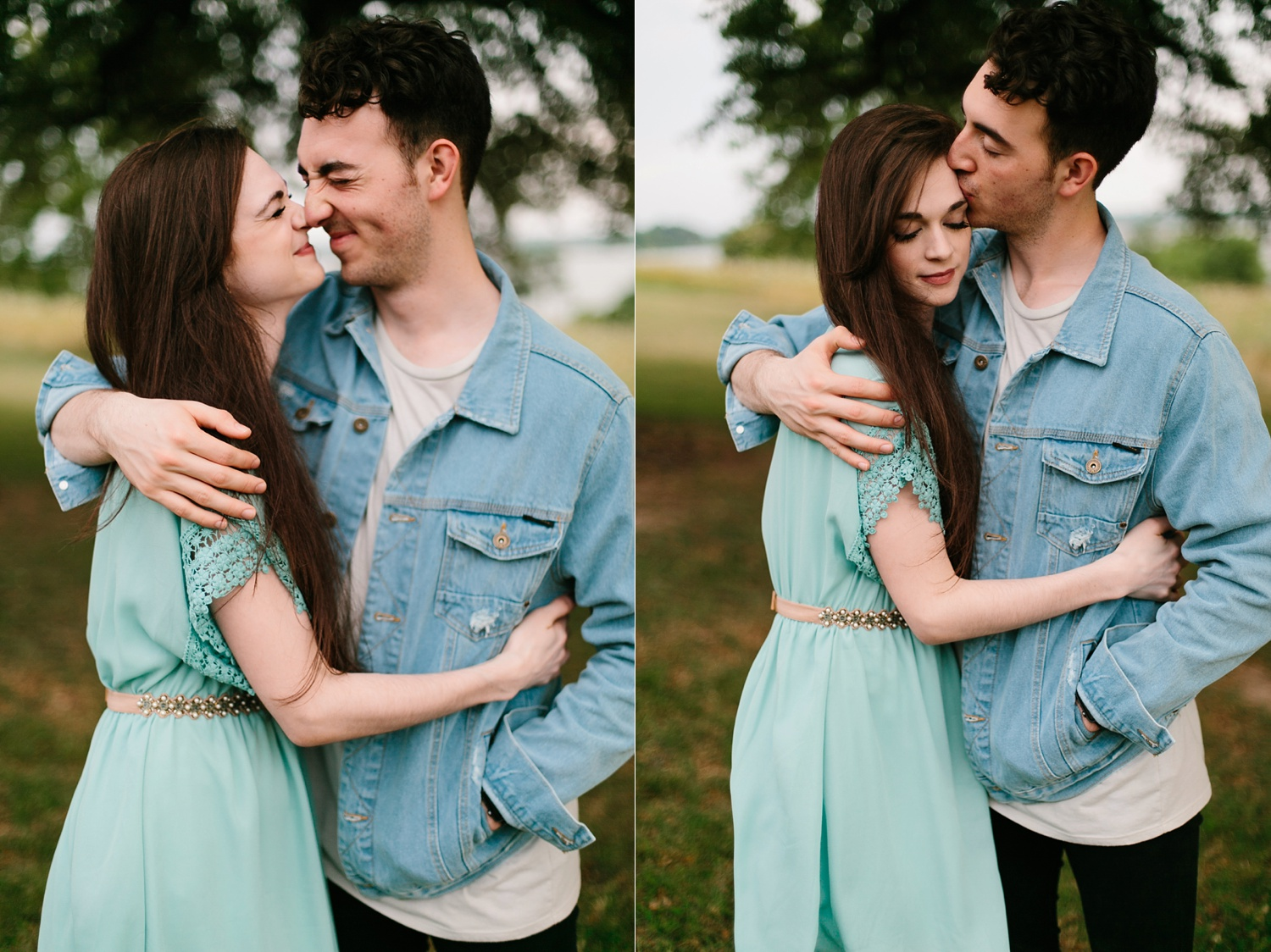 a laughter filled, passionate, and fun loving engagement session by North Texas Wedding Photographer Rachel Meagan Photography 139