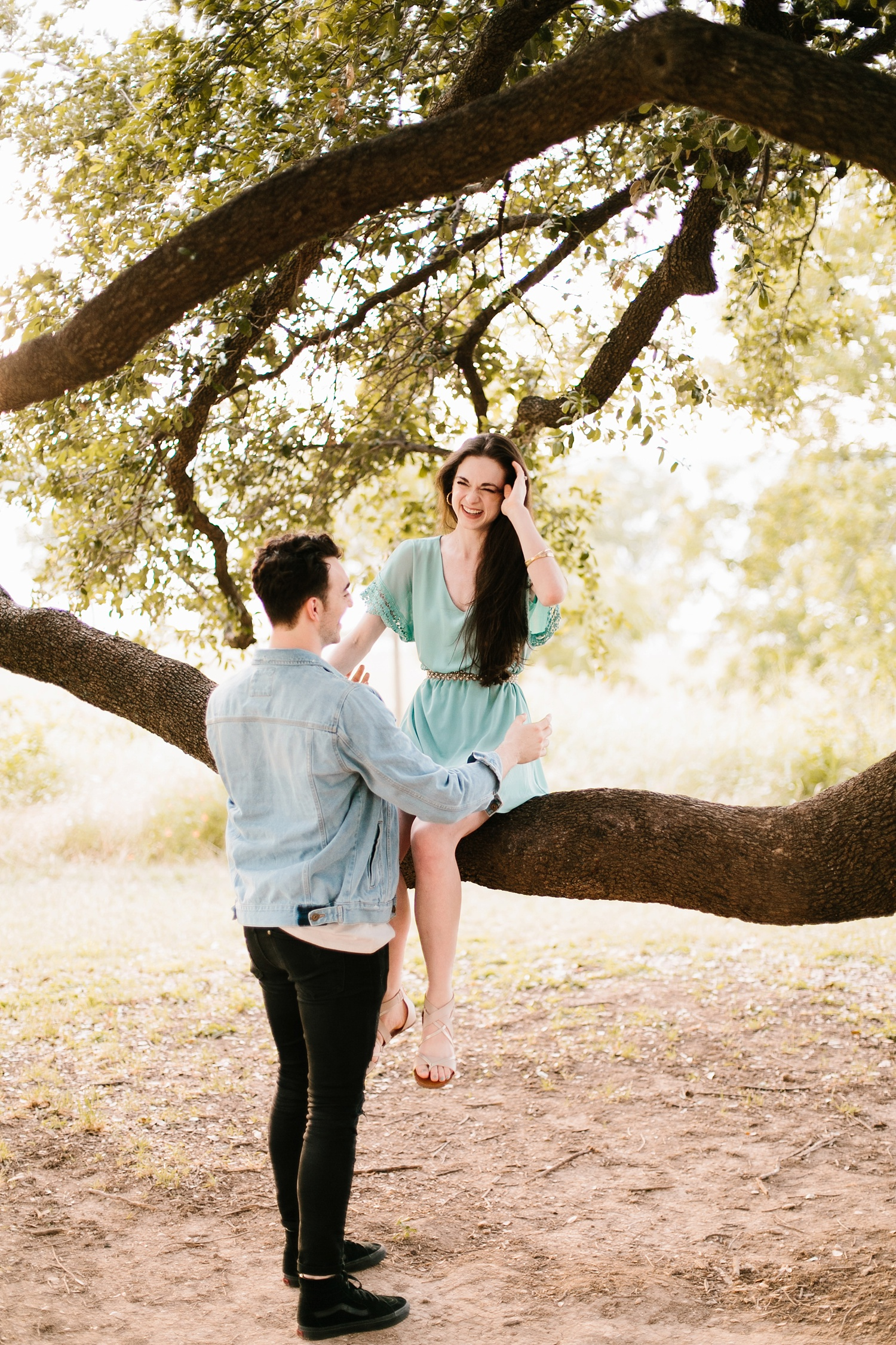 a laughter filled, passionate, and fun loving engagement session by North Texas Wedding Photographer Rachel Meagan Photography 145