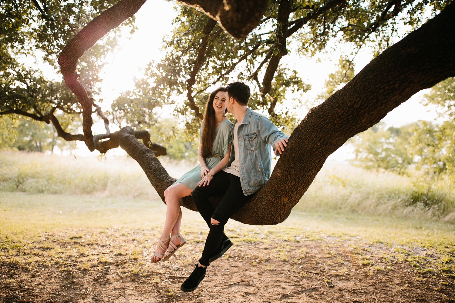 a laughter filled, passionate, and fun loving engagement session by North Texas Wedding Photographer Rachel Meagan Photography 146