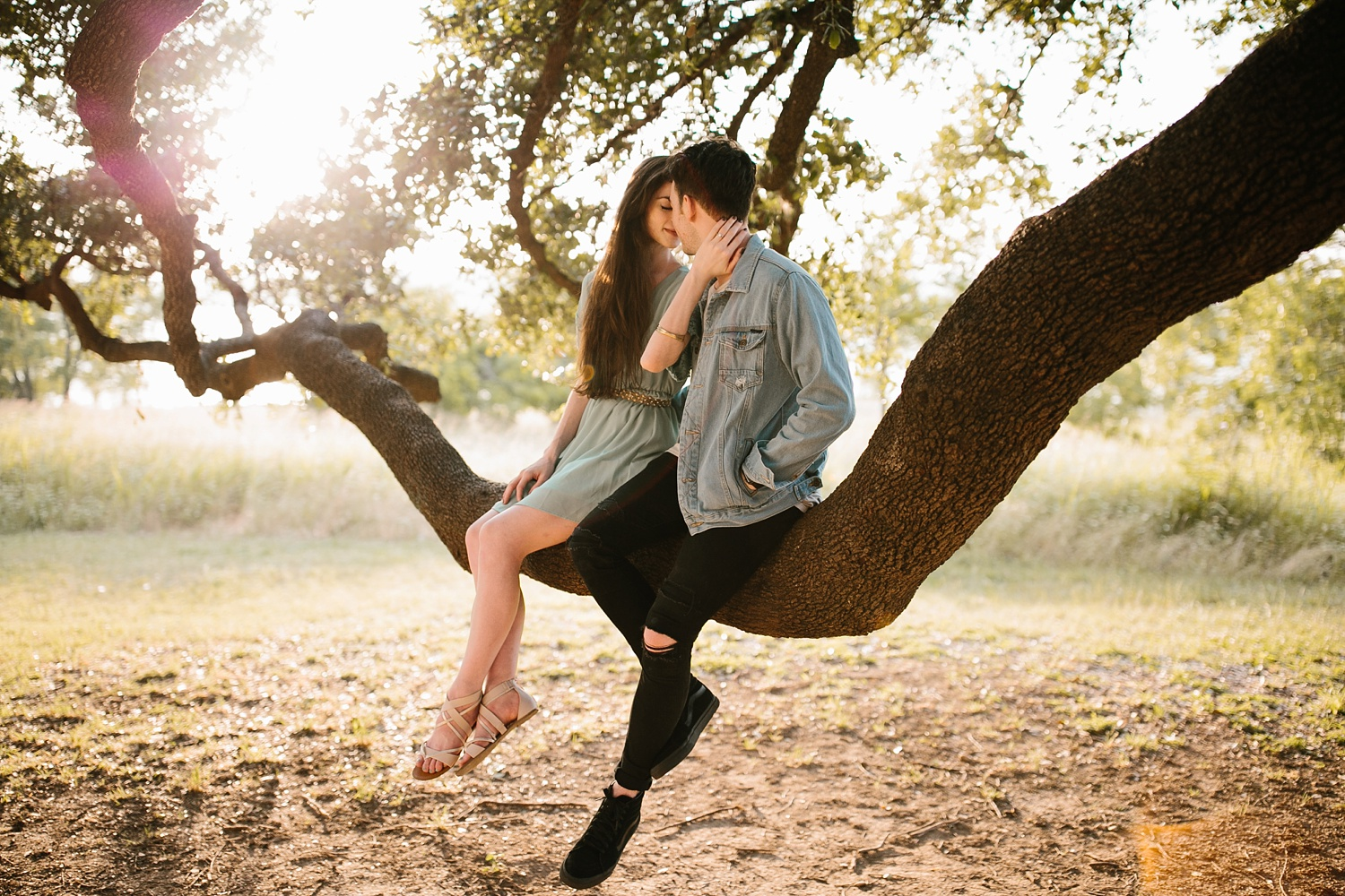 a laughter filled, passionate, and fun loving engagement session by North Texas Wedding Photographer Rachel Meagan Photography 148