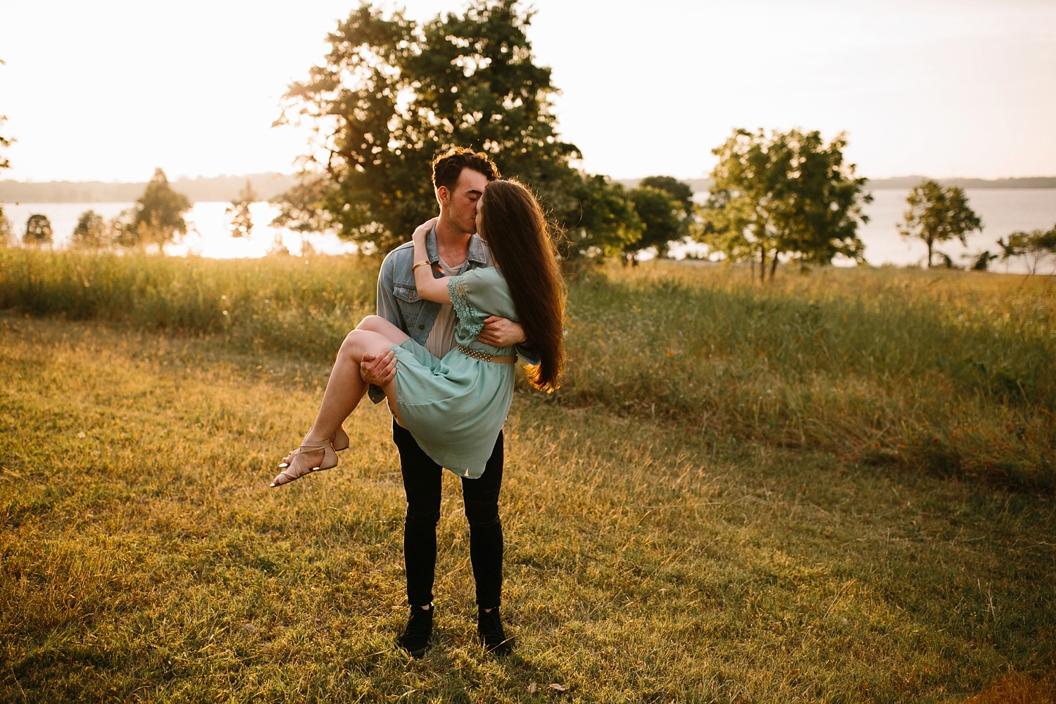 a laughter filled, passionate, and fun loving engagement session by North Texas Wedding Photographer Rachel Meagan Photography 153