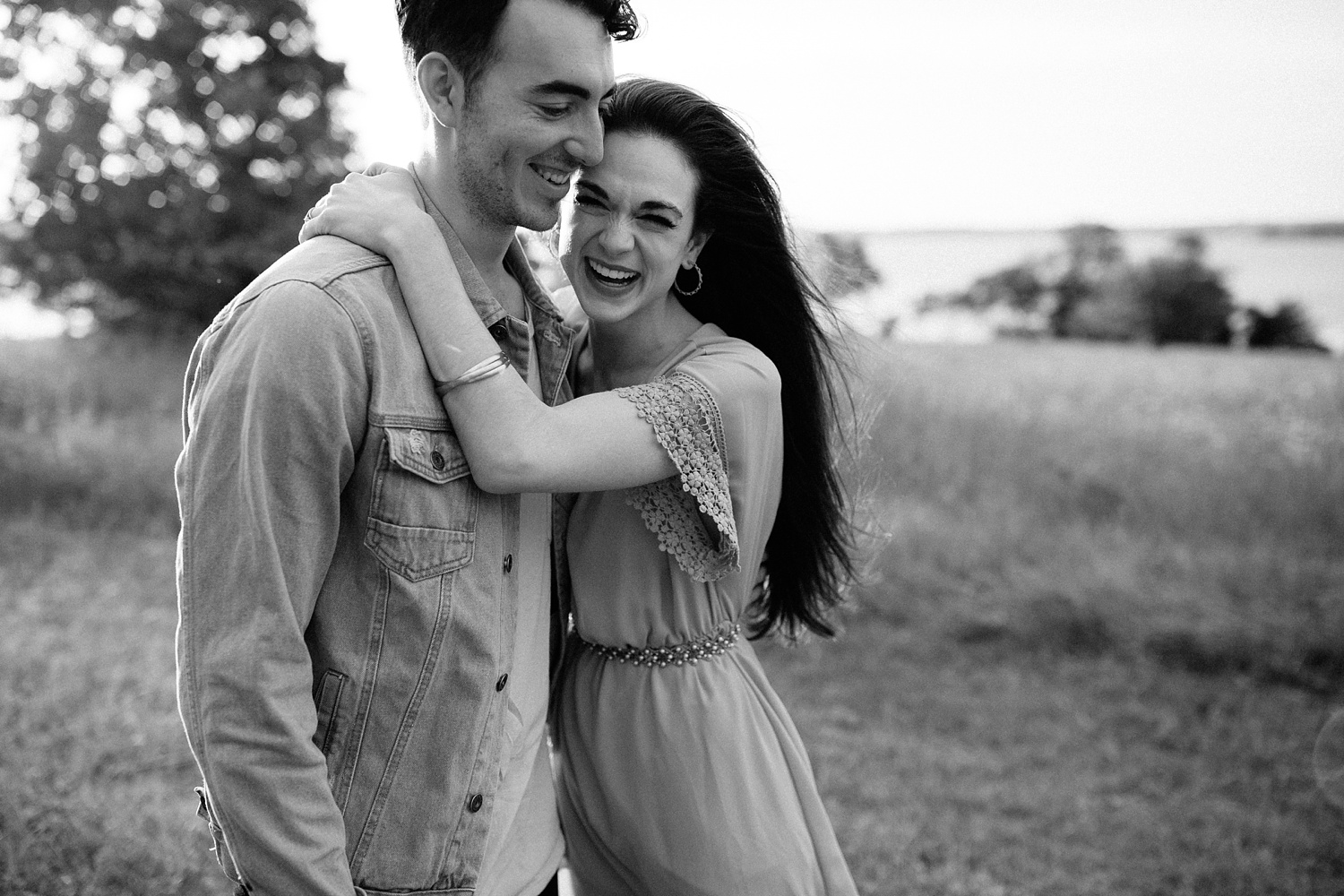 a laughter filled, passionate, and fun loving engagement session by North Texas Wedding Photographer Rachel Meagan Photography 154