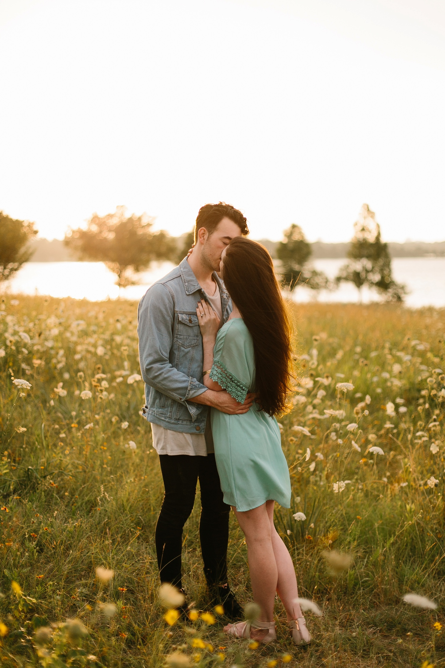 a laughter filled, passionate, and fun loving engagement session by North Texas Wedding Photographer Rachel Meagan Photography 156