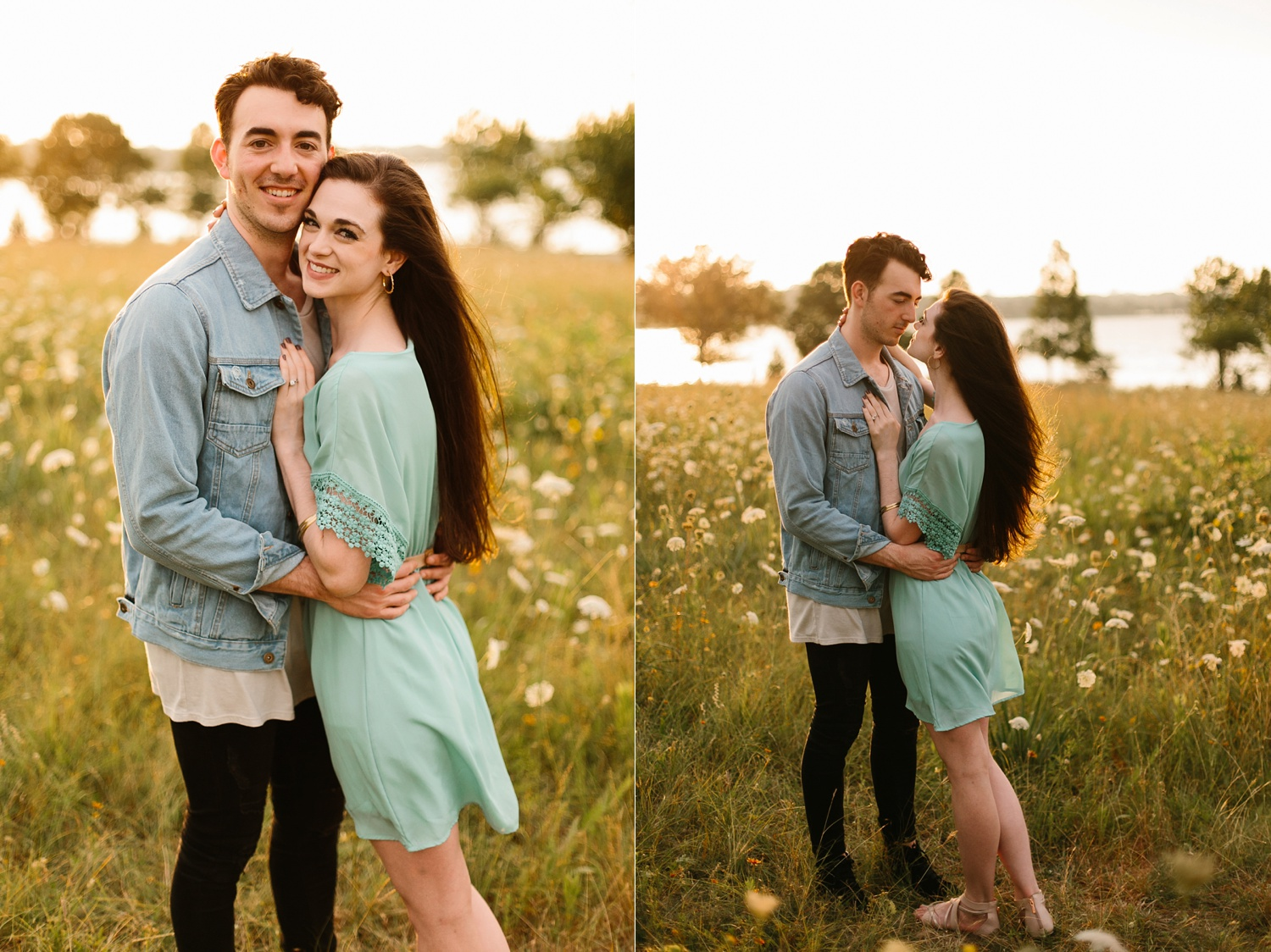 a laughter filled, passionate, and fun loving engagement session by North Texas Wedding Photographer Rachel Meagan Photography 157