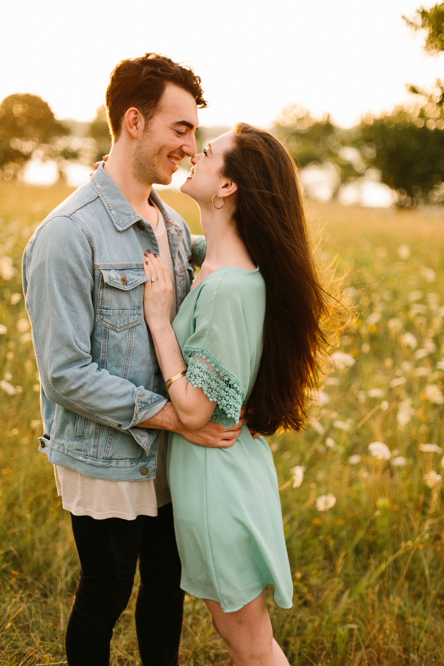 a laughter filled, passionate, and fun loving engagement session by North Texas Wedding Photographer Rachel Meagan Photography 158