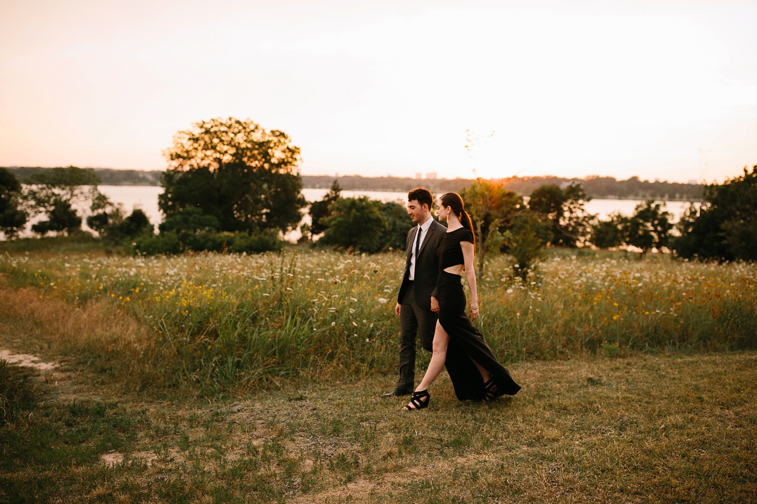 a laughter filled, passionate, and fun loving engagement session by North Texas Wedding Photographer Rachel Meagan Photography 178