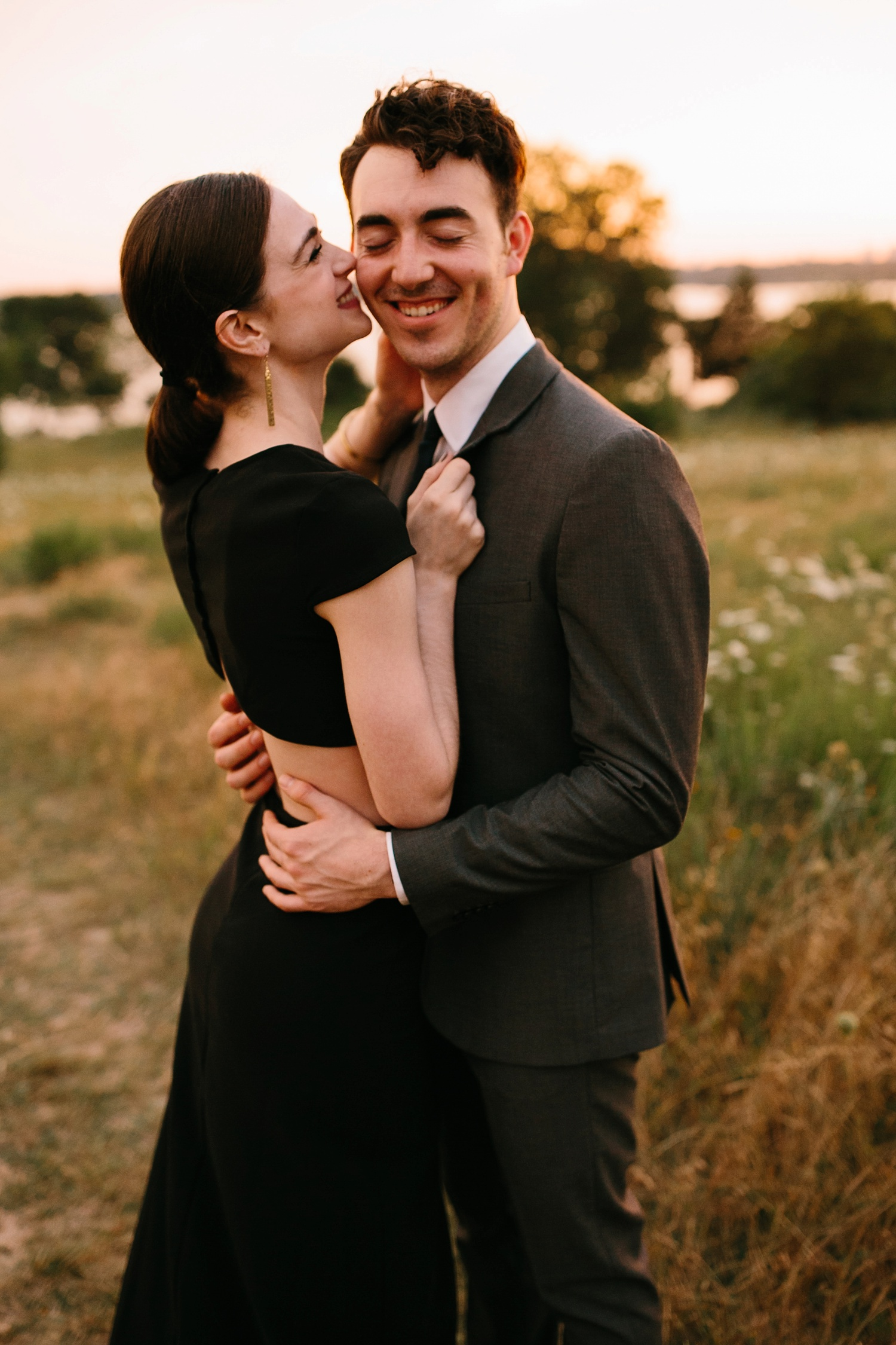 a laughter filled, passionate, and fun loving engagement session by North Texas Wedding Photographer Rachel Meagan Photography 188