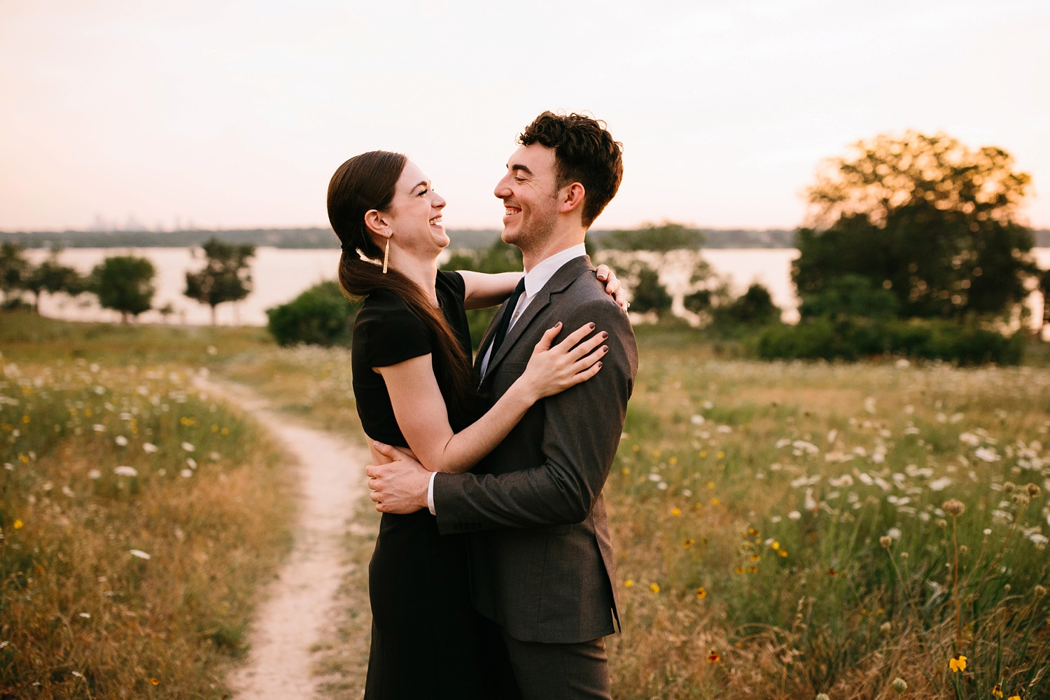a laughter filled, passionate, and fun loving engagement session by North Texas Wedding Photographer Rachel Meagan Photography 191