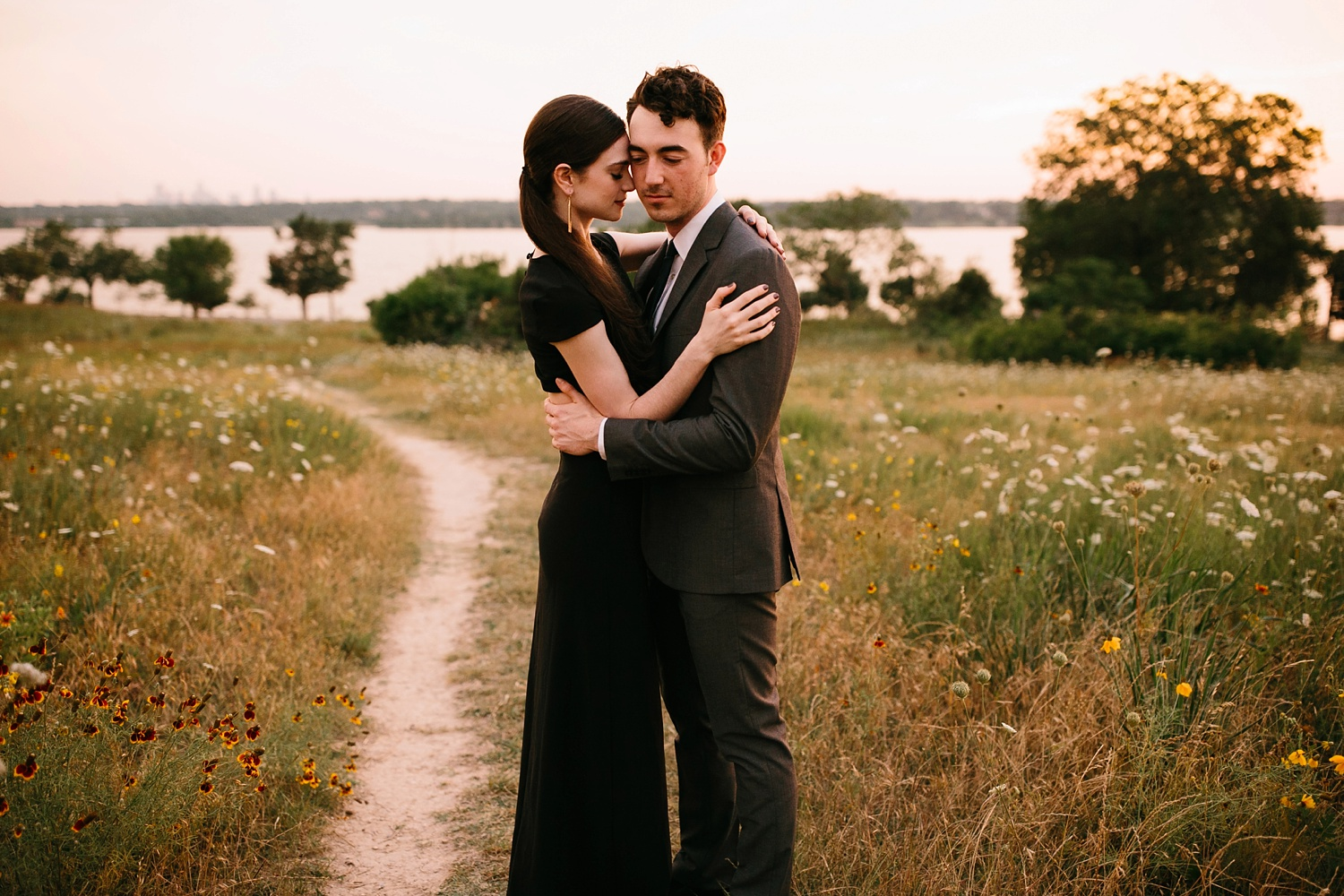 a laughter filled, passionate, and fun loving engagement session by North Texas Wedding Photographer Rachel Meagan Photography 193