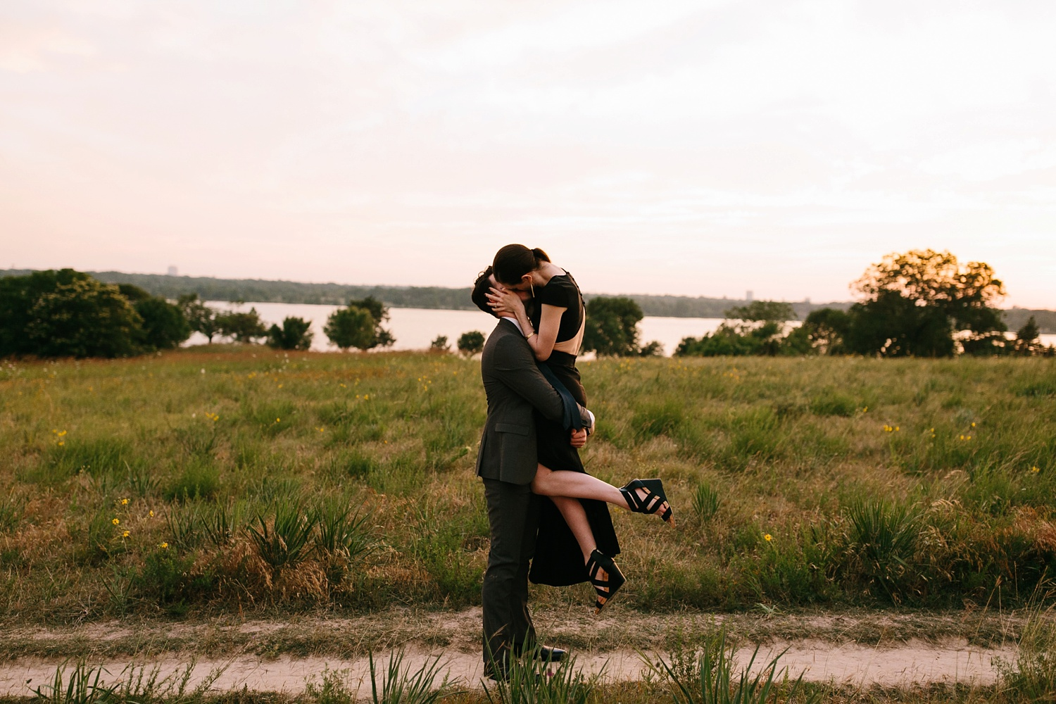 a laughter filled, passionate, and fun loving engagement session by North Texas Wedding Photographer Rachel Meagan Photography 199