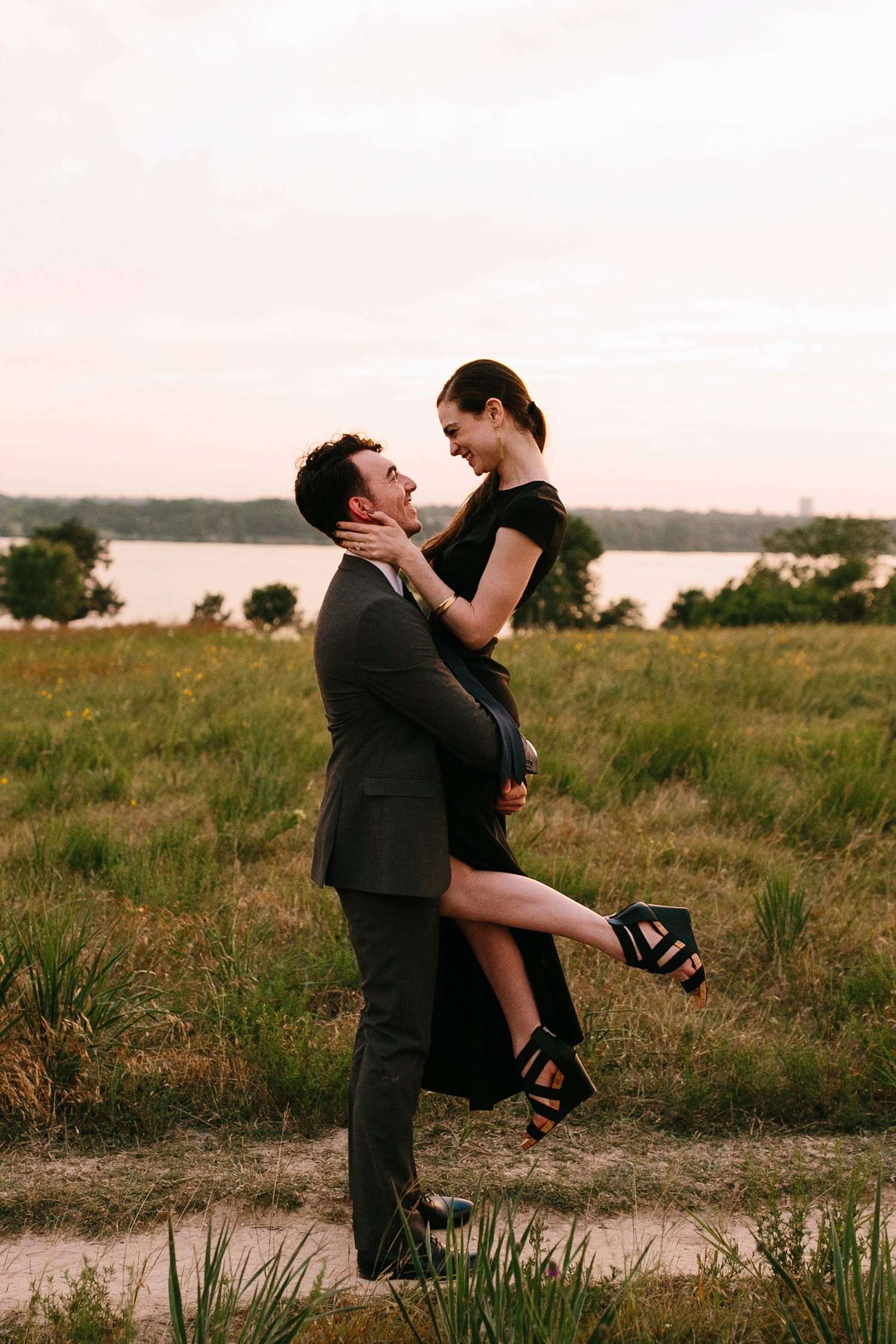 a laughter filled, passionate, and fun loving engagement session by North Texas Wedding Photographer Rachel Meagan Photography 201