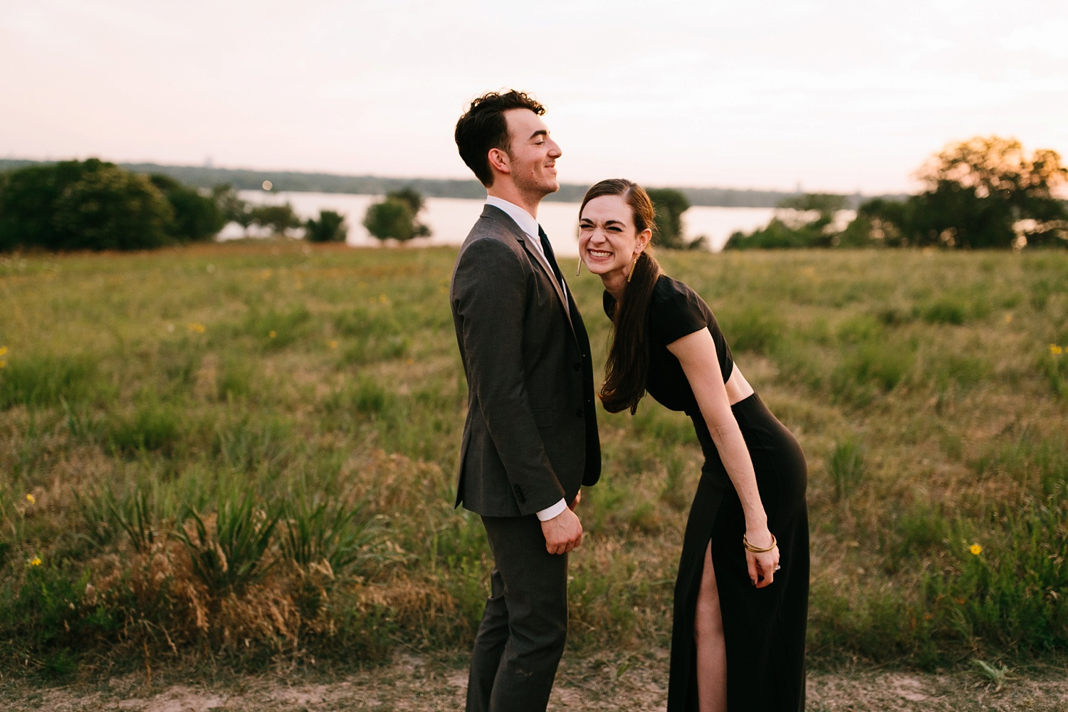 a laughter filled, passionate, and fun loving engagement session by North Texas Wedding Photographer Rachel Meagan Photography 202