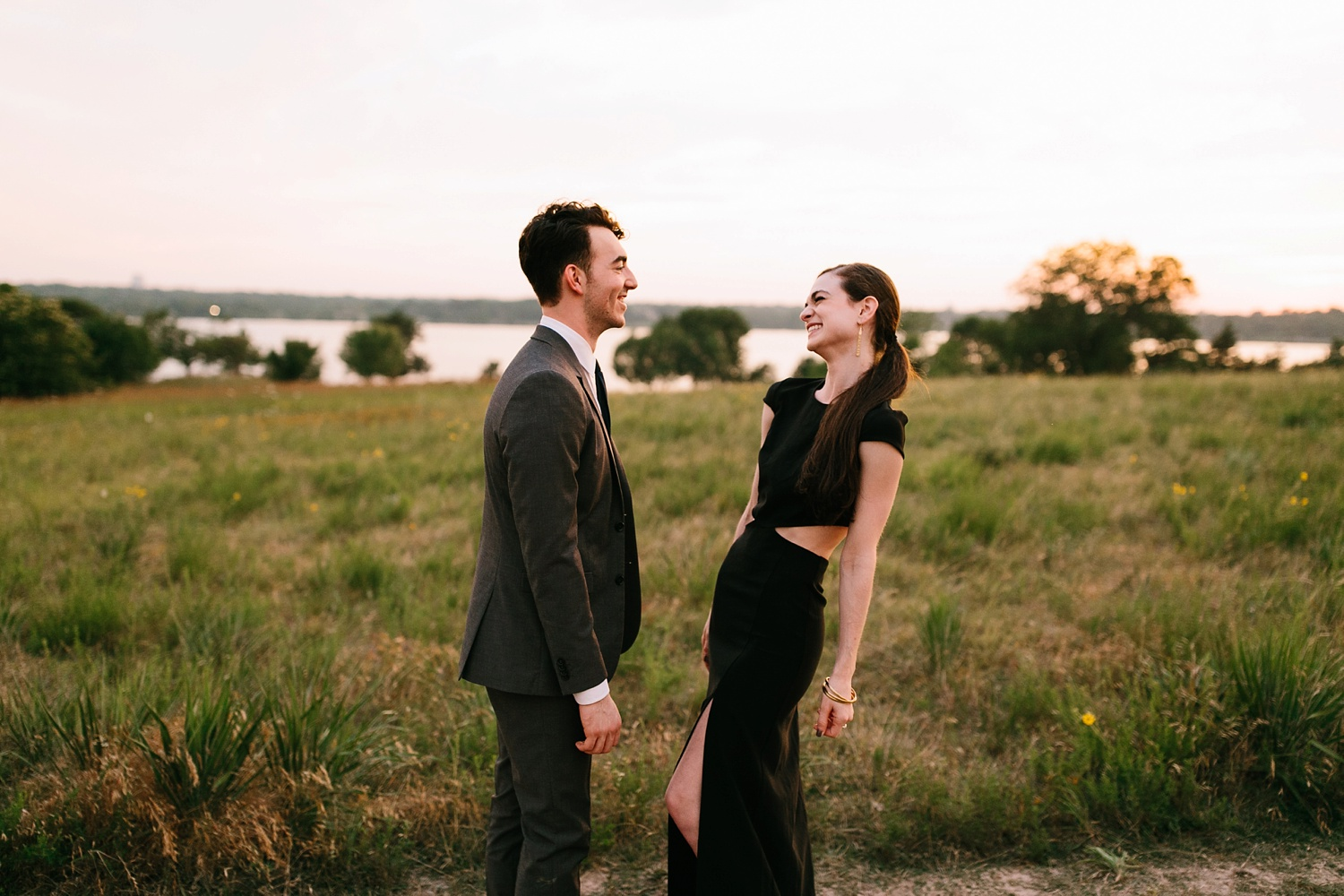 a laughter filled, passionate, and fun loving engagement session by North Texas Wedding Photographer Rachel Meagan Photography 203