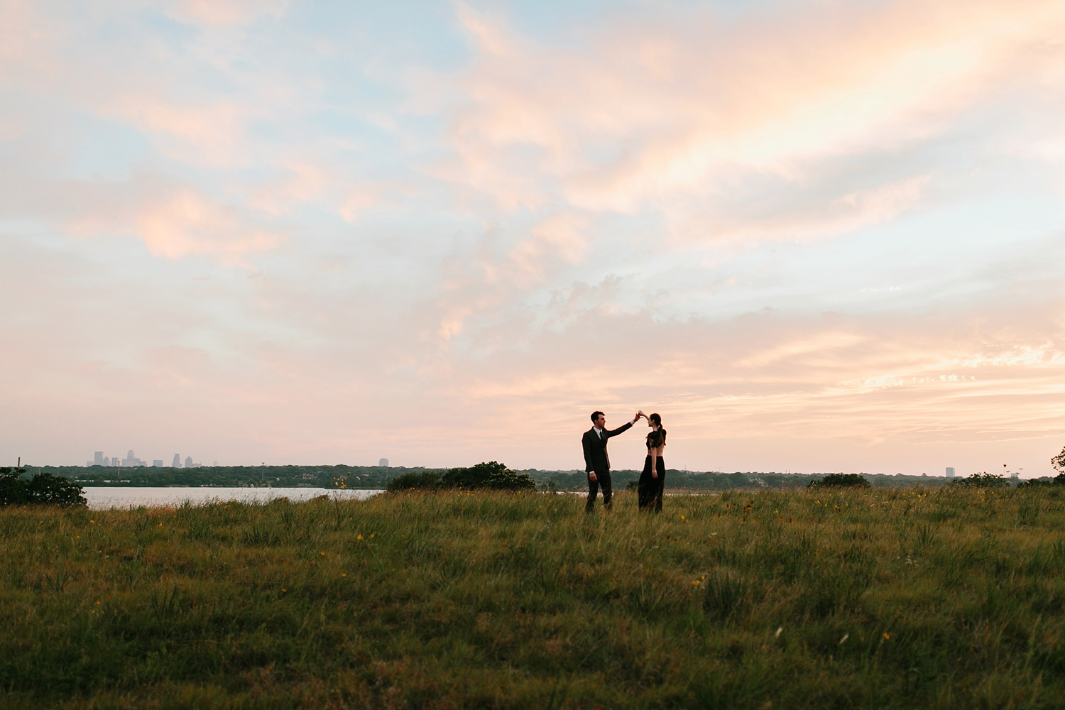 a laughter filled, passionate, and fun loving engagement session by North Texas Wedding Photographer Rachel Meagan Photography 210
