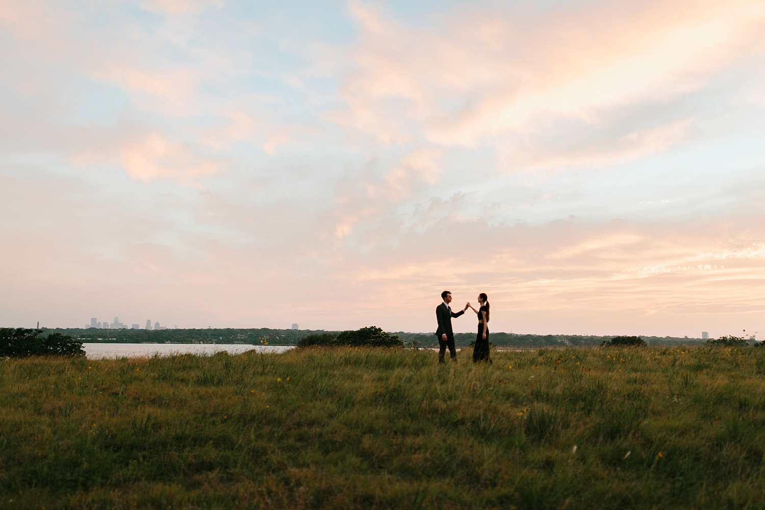 a laughter filled, passionate, and fun loving engagement session by North Texas Wedding Photographer Rachel Meagan Photography 211