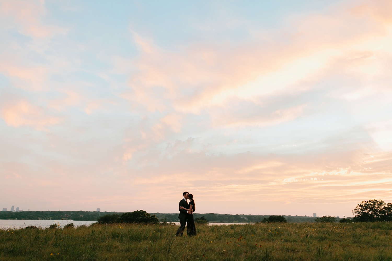 a laughter filled, passionate, and fun loving engagement session by North Texas Wedding Photographer Rachel Meagan Photography 212