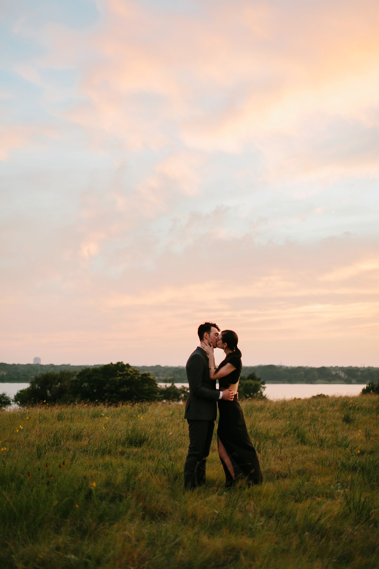 a laughter filled, passionate, and fun loving engagement session by North Texas Wedding Photographer Rachel Meagan Photography 213